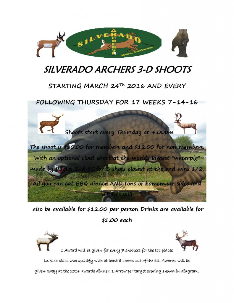 Silverado 3-D shoot flyer