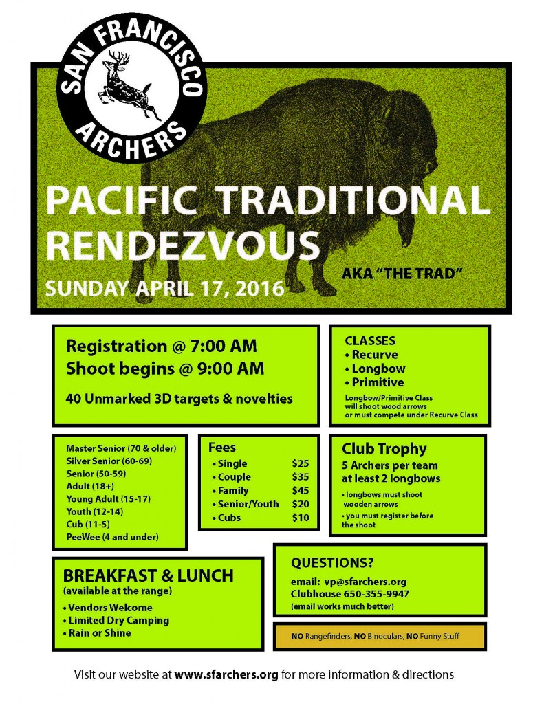 SFA Pacific Traditional Rendezvous-Apr 17 2016 flyer